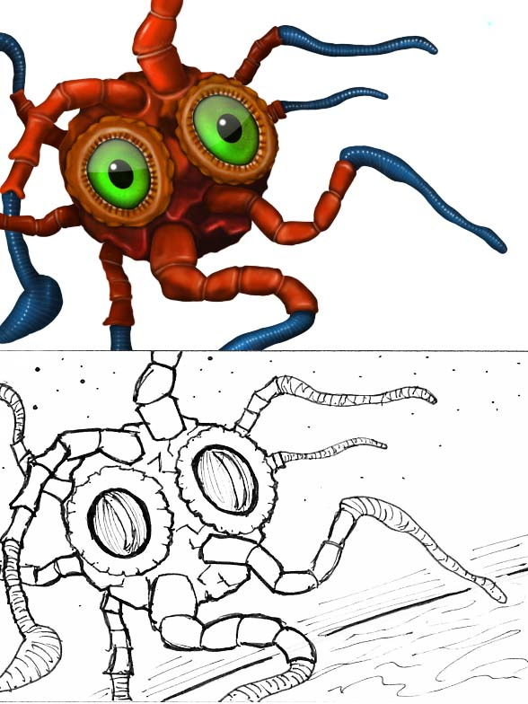 Battleballz Creature