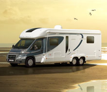 Motorhome on Beach