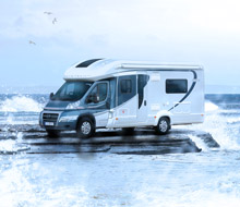 Motorhome in Surf