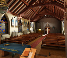 Inside Lynton Church